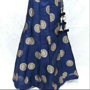 a14e228334f4 Size  OS. shivad shivad. 1. Other - New navy blue lehenga skirt